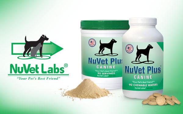 nuvet labs natural dog supplements