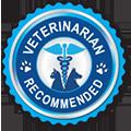 veterinarian recommended logo